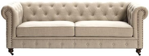 tufted sofas amazon.com: gordon tufted sofa, 32 VIAXEPP