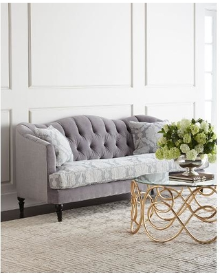 tufted sofas raylen tufted sofa, grey/gray JETTLCW