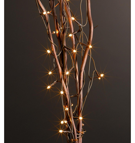 Brown Twig Lights In Vase Vase With Twigs And Lights Vase And