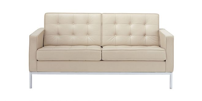 two seater sofa florence knoll two-seater sofa CVATKRX