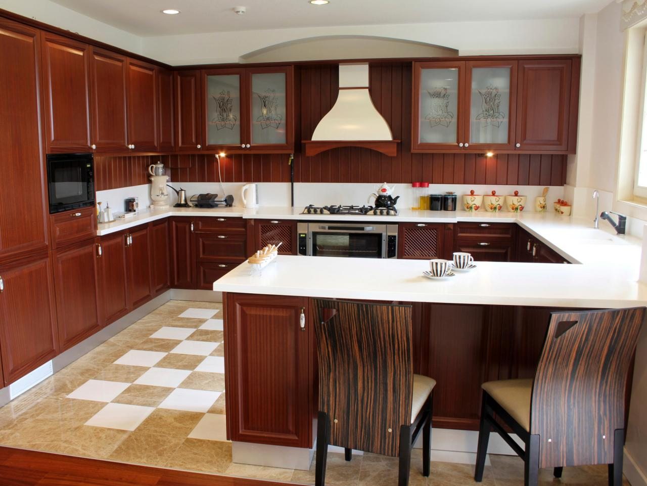 u shaped kitchen u-shaped kitchens EYQDTQC
