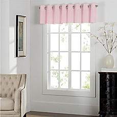 valance curtains image of newport grommet window curtain valance KNZYVJY