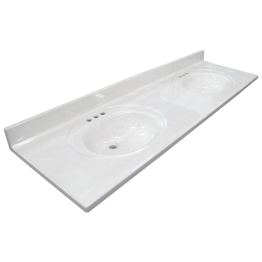 vanity tops us marble ambassador 101- white on white cultured marble integral bathroom vanity DOHAJZK