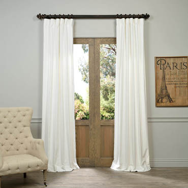vintage curtains white vintage cotton velvet curtain IPEJEET