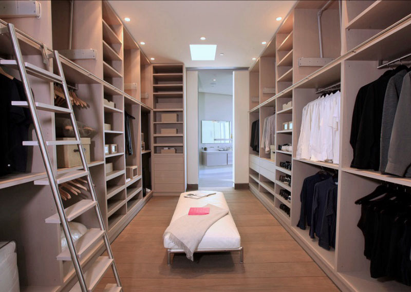 walkin closet impressive yet elegant walk-in closet ideas - freshome.com HDXUWTW