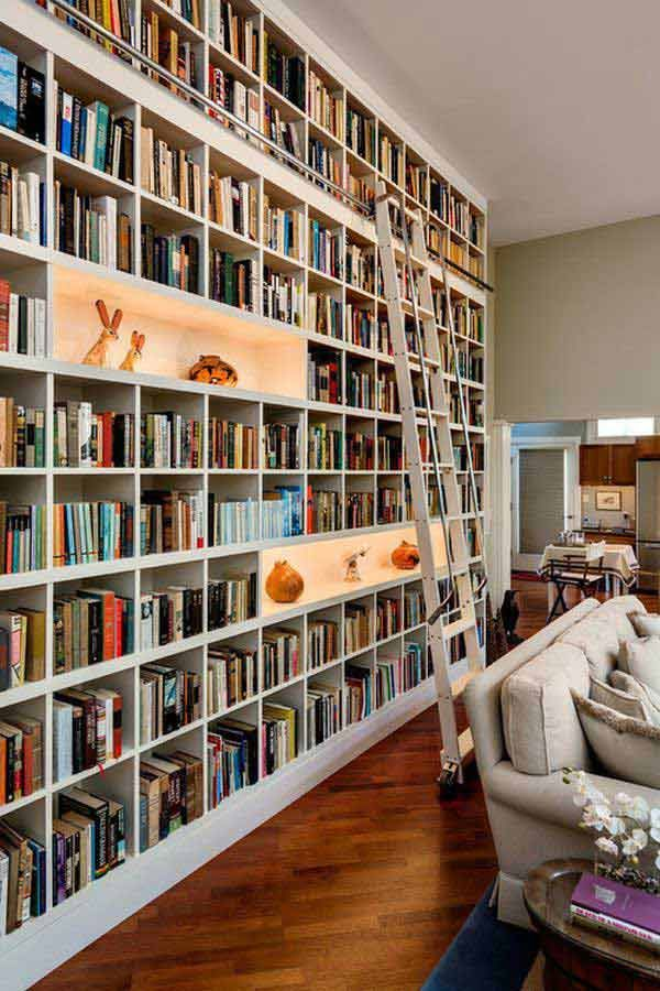 wall bookshelves 24 dreamy wall library design ideas for all bookworms XIPKUTM