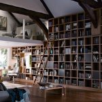 WALL BOOKSHELVES- A HOUSE FOR BOOKS