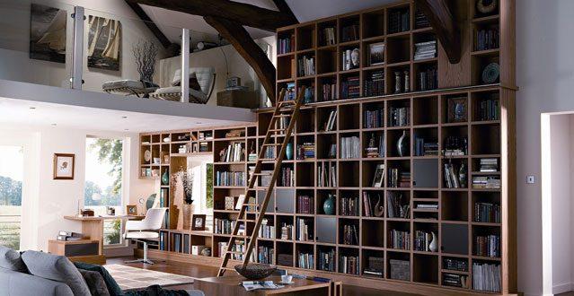 wall bookshelves neville johnson GYBJSUV