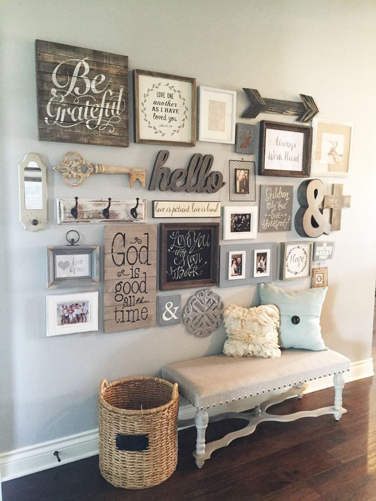 wall decor ideas would not want a gallery wall quite this busy but love these elements!are ZQRFELW