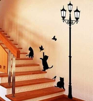 wall painting 20 beautiful diy interior decorating ideas using stencils and paint for  modern OVJOYSI