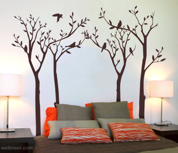 wall painting bedroom BRMKYZJ