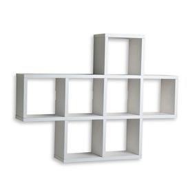 wall shelving danya b 31-in w x 23-in h x 5.5-in d VWNBOGQ