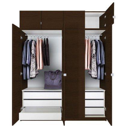 wardrobe closet 86 inch tall wardrobe cabinet package MJPYVLH