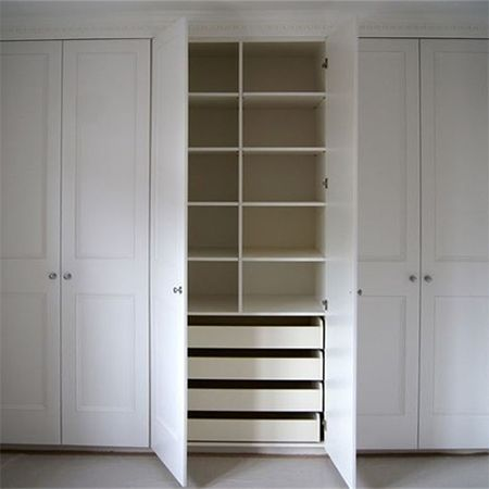 wardrobe closet we offer some easy diy tips on how to construct a basic fitted QBTGFOD