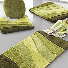 wave design bathroom mats FUNNDGL