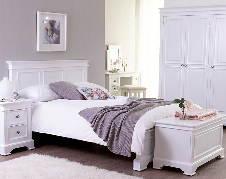 Charming White Bedroom Furniture (image 10 Of 11) AXNECEX