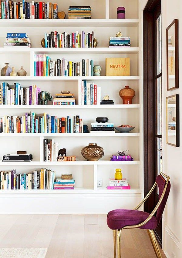 white bookshelves 8 tricks for killer bookshelf styling IJWNLKP
