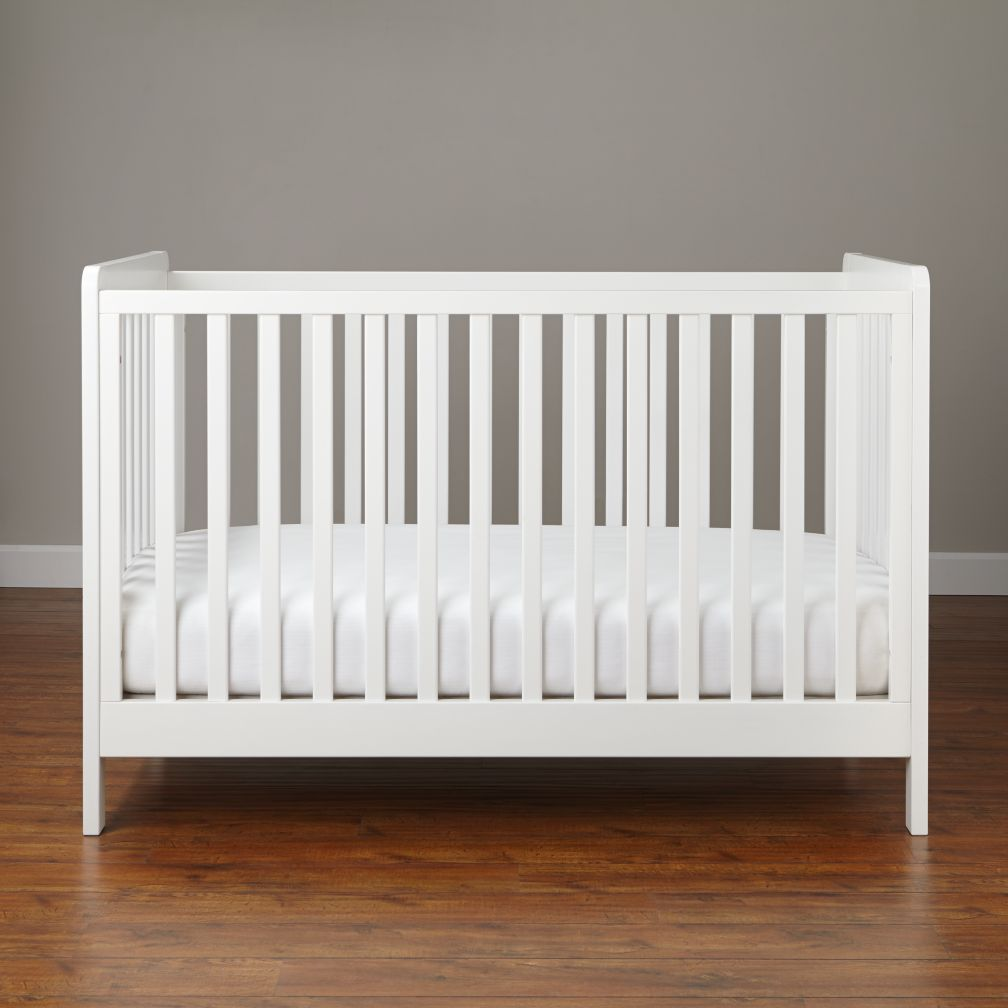 white cribs carousel crib (white) | the land of nod RULWTPP