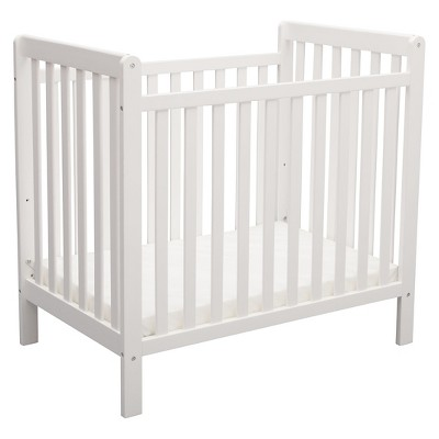 white cribs delta children® mini crib classic BKPNLBD