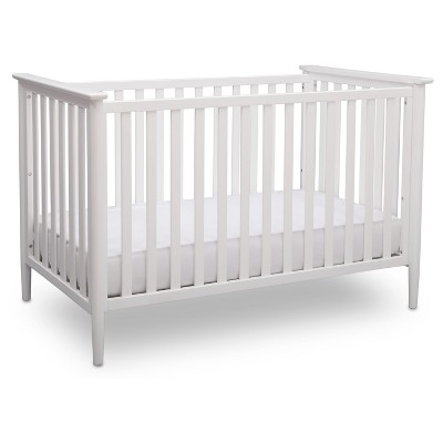 white cribs delta children greyson 3-in-1 convertible crib JTJCAWM
