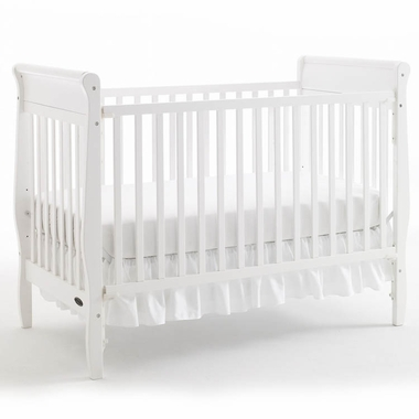 white cribs graco cribs sarah 4 in 1 convertible crib in white - click to FFOAMHL