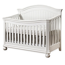 white cribs image of sorelle finley 4-in-1 convertible crib in white HJQFKEW