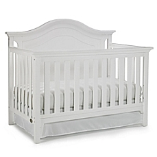 white cribs image of ti amo catania 4-in-1 convertible crib in snow white YWIVCOY