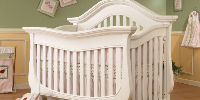 white cribs lusso nursery century collection 4 in 1 crib w/mini rail in french white UCMTTCD