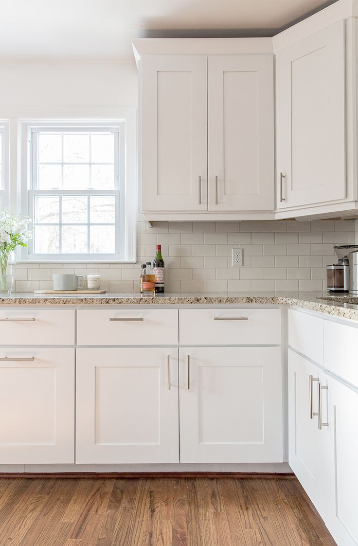 white kitchen cabinets a simple kitchen update | the fresh exchange - behru0027s ultra pure white QIIPUDN