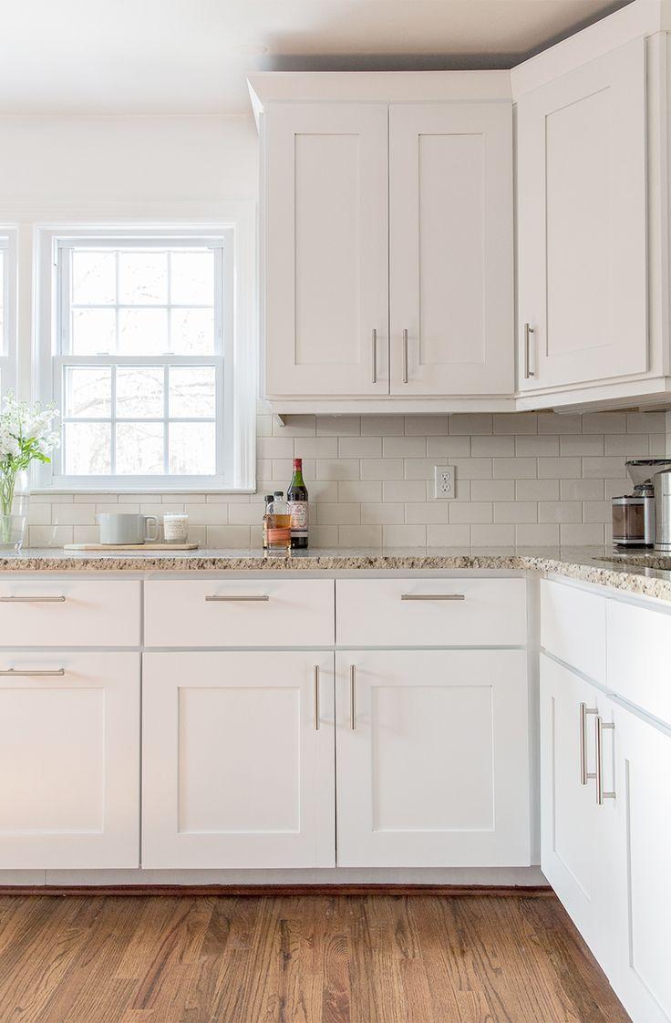 white kitchen cabinets a simple kitchen update | the fresh exchange - behru0027s ultra pure white QIIPUDN