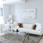 Your Trendy White Living Room