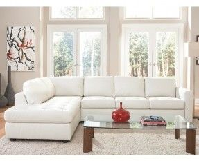 white sectional sofa  ZDIOQJQ