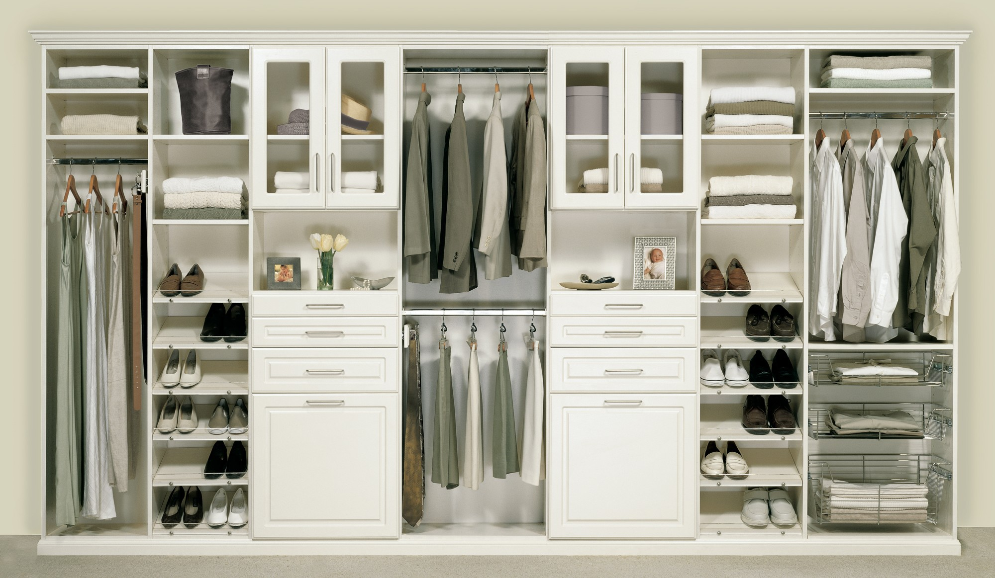 Superbe White Wardrobe Closet Also Drawers For Closet And Shelves For Closet Thus  PGVNNQB