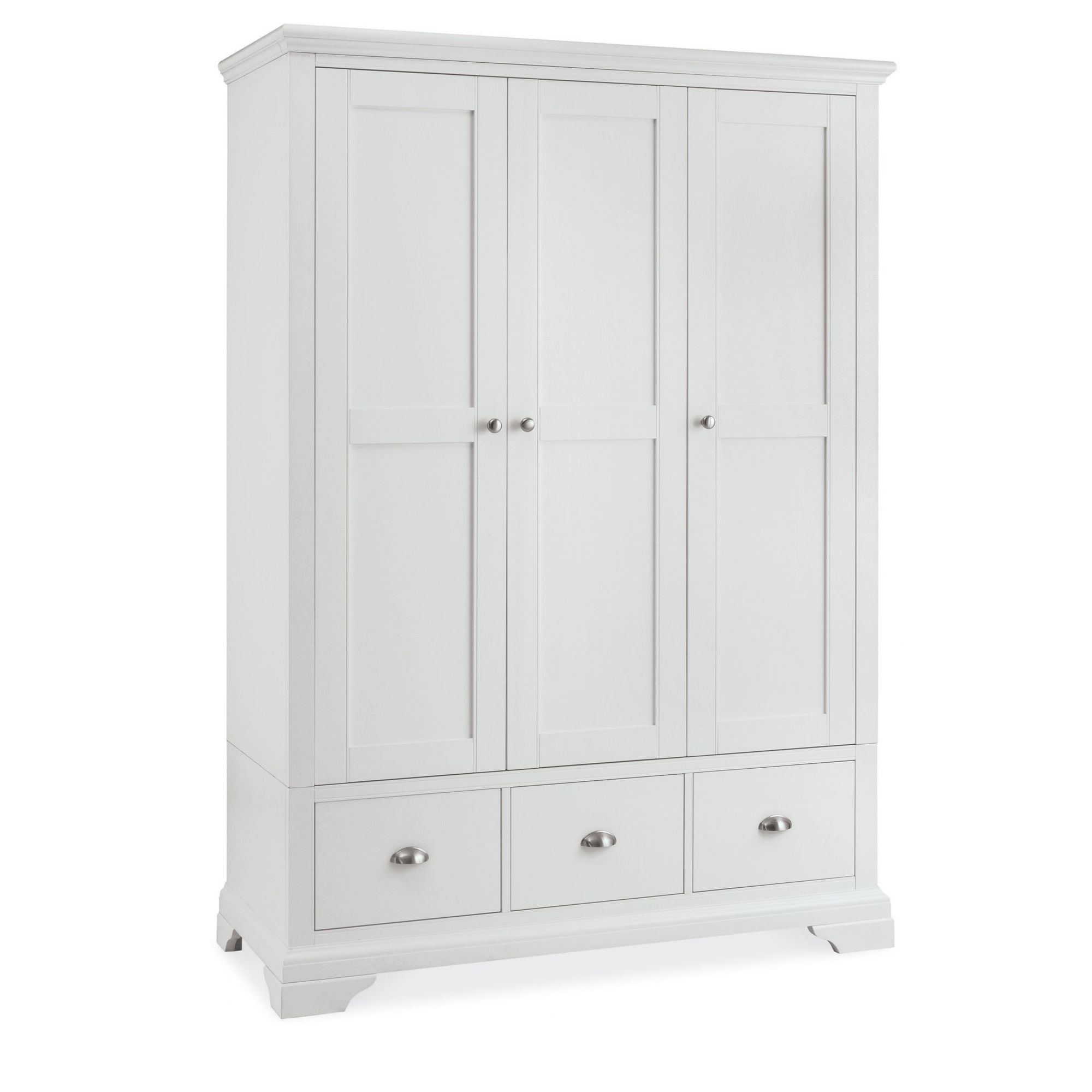white wardrobes cookes collection camden white triple wardrobe DRXUNGU