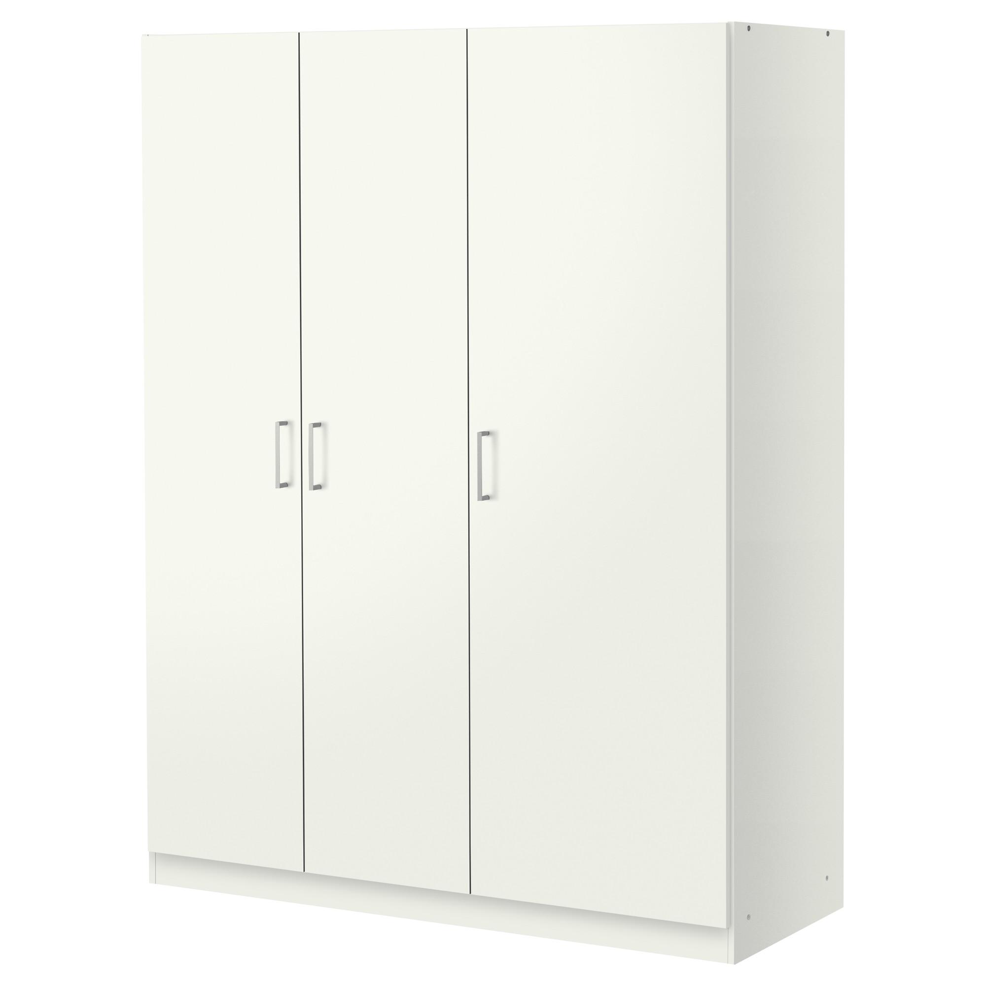 white wardrobes ikea dombås wardrobe adjustable shelves make it easy to customise the space KYQQLGI