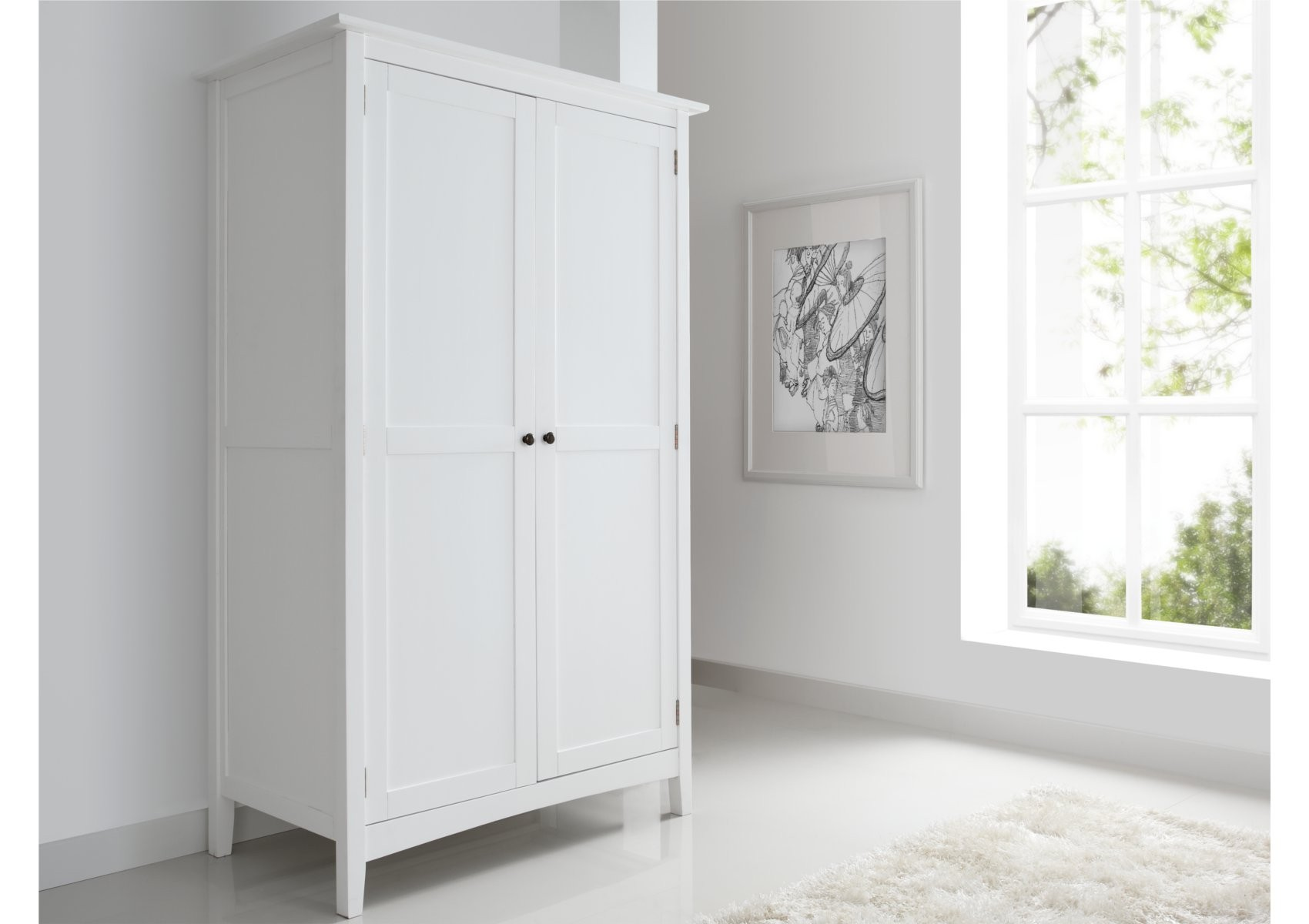White Wooden Wardrobe ~ White wardrobes simple yet beautiful furniture