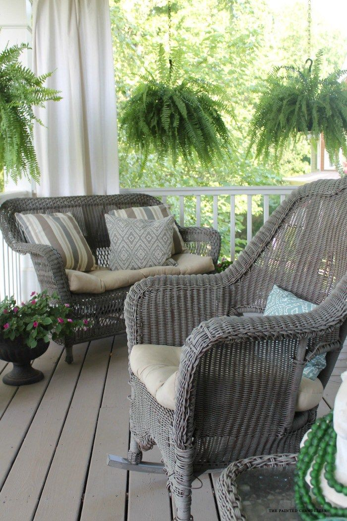 wicker furniture my 2 favorite paint colors for creating a weathered gray finish. wicker DDZANLB