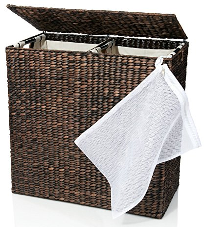 wicker laundry basket designer wicker laundry hamper with divided interior and laundry basket  bags - DZTGZAC