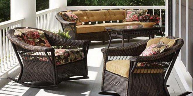 wicker porch furniture design SJSYGFR