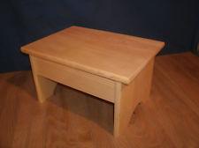 wide wooden step stool,7 1/2 BWTJZZE