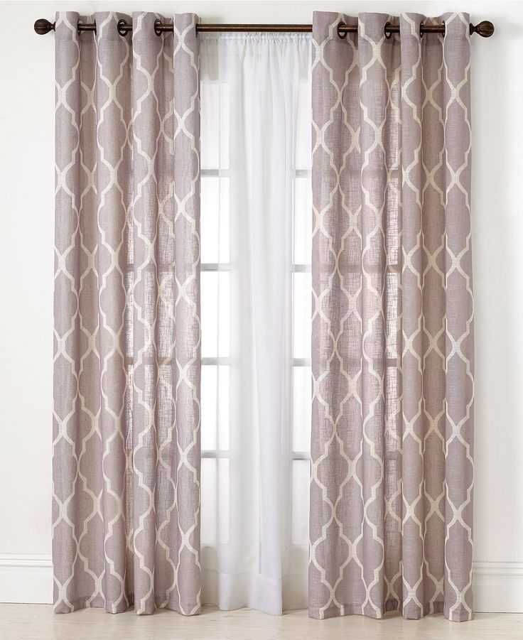 window drapes elrene medalia window treatment collection - fashion window treatments -  for the WSMVEMS