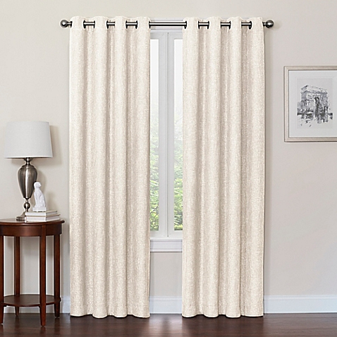window drapes image of quinn grommet top 100% blackout window curtain panel ITNJRAY