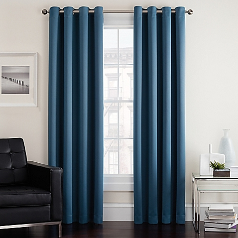 window drapes image of twilight room darkening grommet window curtain panel OBHEHQY