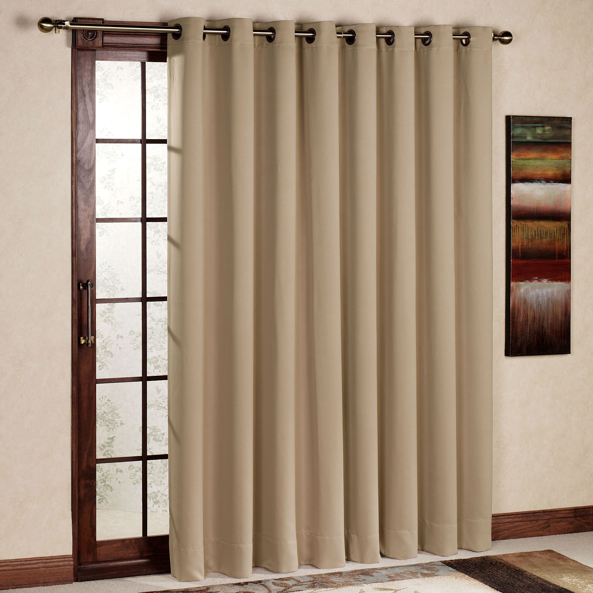 window drapes ultimate blackout grommet patio panel RILTHGF