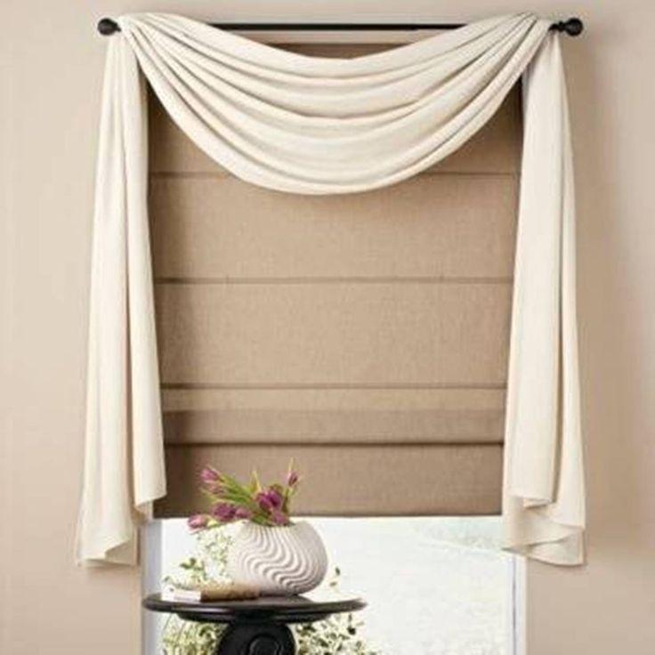Window Scarves Home Design And Decor Pretty Scarf Ideas White Valance OKYOMVV