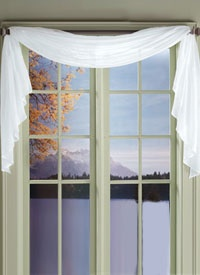 window scarves short white sheer window scarf QWZXQUE