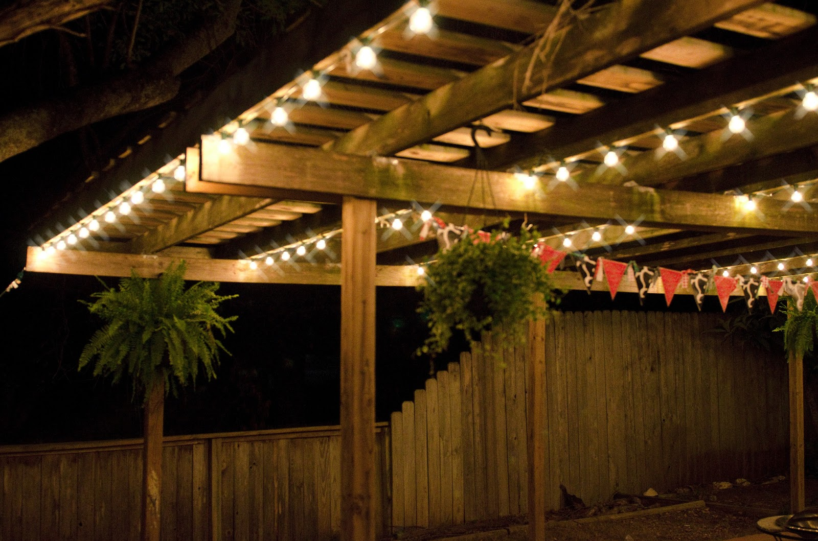 The Patio lights that can turn everything towards it