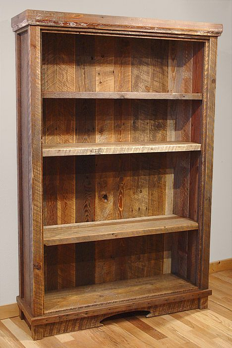 wood bookcases 7 diy old rustic wood furniture projects LULJSXW
