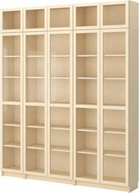 wood bookcases billy bookcase with glass-door modern-bookcases VPRGAGS