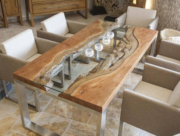 wood dining table wood slab dining table designs in rustic and modern interiors | wood slab THRZBND